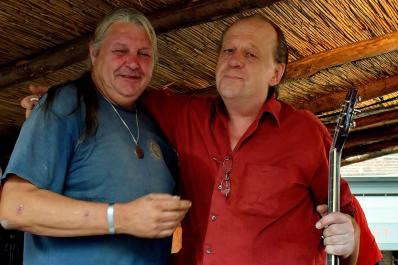 Walter Lavent en Jan de Bruijn (Goldwyn Jacobs)